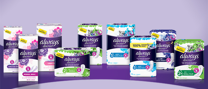 Incontinence pads and liners