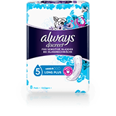 ALWAYS DISCREET Incontinence Pads Long Plus