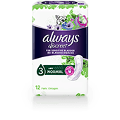 ALWAYS DISCREET Incontinence Pads Normal