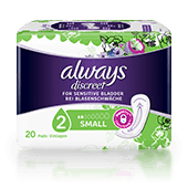 ALWAYS DISCREET Incontinence Pads Small