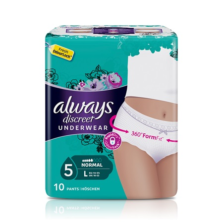Incontinence Pants Always Discreet Large