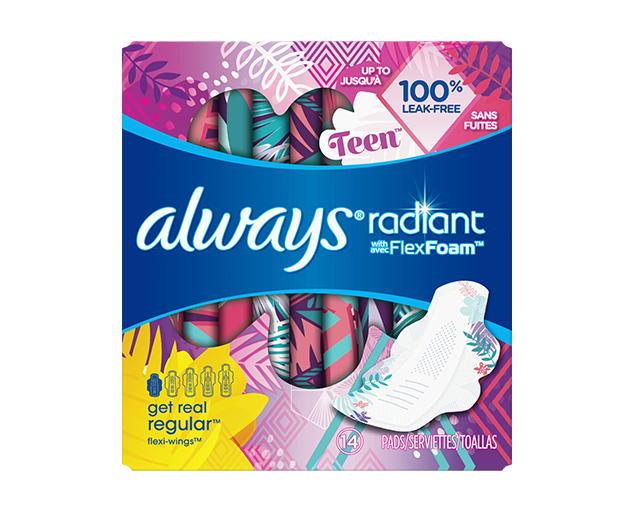 Always Special Pads for Teens | Always®