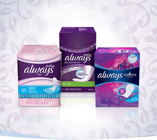 What's in an ALWAYS panty liner?