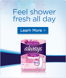 Feel shower fresh all day