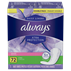 Always Xtra Protection Daily Liners Long Clean Scent