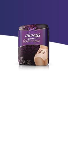 Always Discreet Boutique Incontinence Underwear