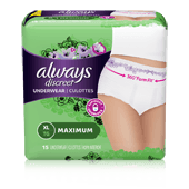 Extra Large Moderate Incontinence Underwear