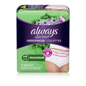 Small/Medium Moderate Incontinence Underwear