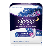 Always Discreet Ultimate Overnight Pads - Long Length