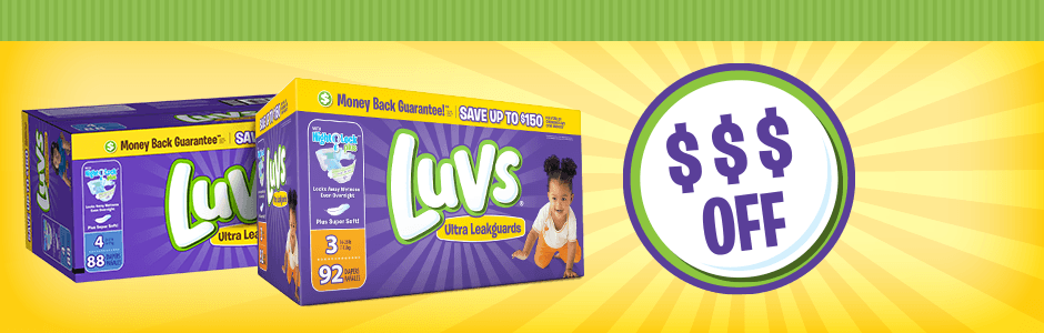 luvs diaper coupons codes