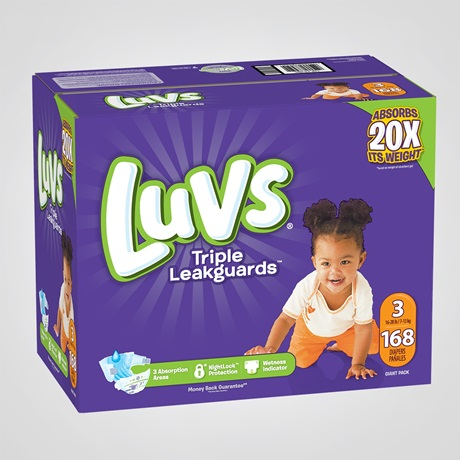 6643b7178f0 Ultraguard Size 3 Diapers & It's Reviews - Luvs Diapers
