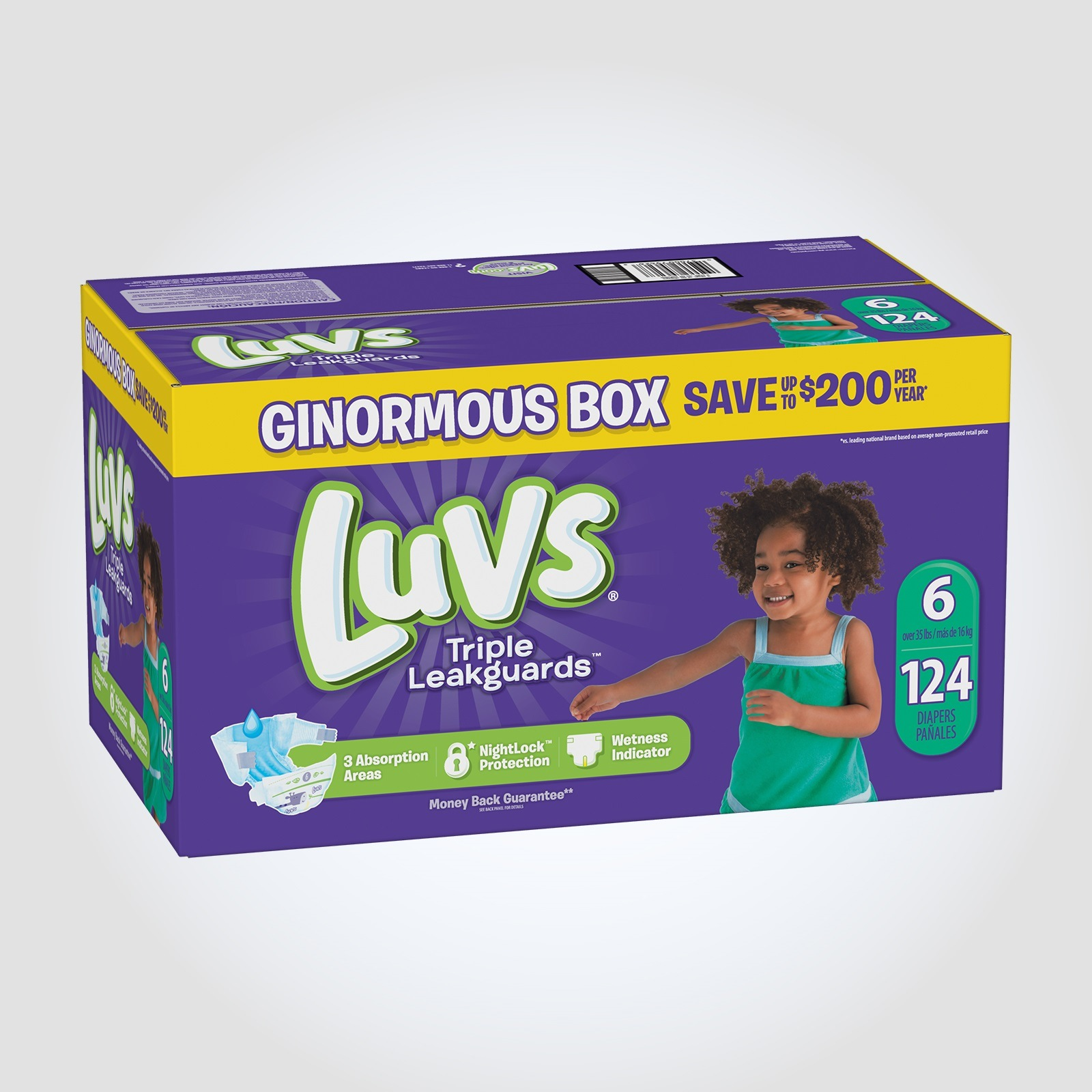 Size 6 Diapers Information Reviews Luvs Diapers