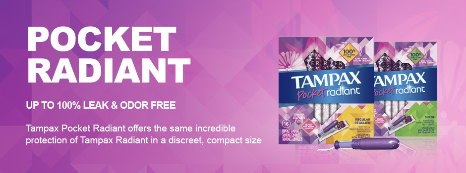 Tampax Pocket Radiant