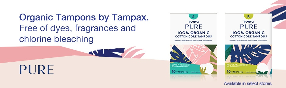 Tampax Pure and Clean