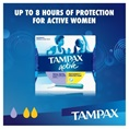 Tampax Pearl Active Duo Regular Super MotionFit Protection