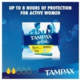Tampax Pearl Active Regular MotionFit Protection