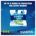 Tampax Pearl Active Super MotionFit Protection