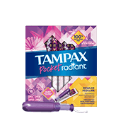 Tampax Pocket Radiant Regular