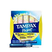 Tampax Pocket Pearl Regular