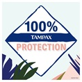 Proven protection of Tampax and the simple ingredients.