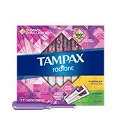 Tampax Radiant Duo-pack