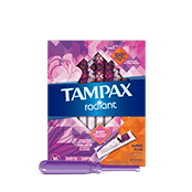 Tampax Radiant Super Plus