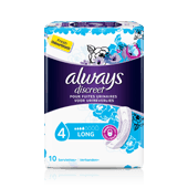 Serviettes pour incontinence - ALWAYS DISCREET Long