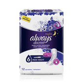ALWAYS DISCREET Maxi Night - serviettes pour fuites urinaires