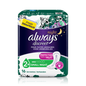 ALWAYS DISCREET Small Plus - Serviettes pour fuites urinaires