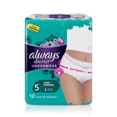 Culottes incontinence ALWAYS DISCREET Normal - taille L