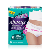 Culottes incontinence ALWAYS DISCREET Normal - taille M