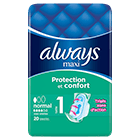 ALWAYS Maxi Normal Taille 1 Serviettes