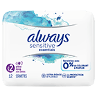 Always sensitive
