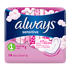 ALWAYS Sensitive Normal Ultra (Taille 1) Serviettes hygiéniques