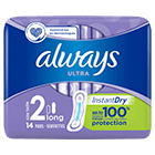 ALWAYS Ultra Long (Taille 2) Serviettes hygiéniques
